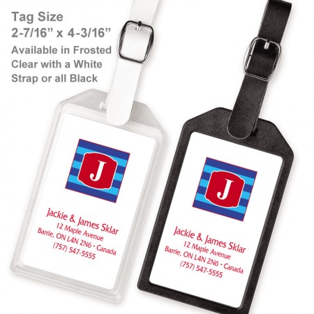 Monogram Luggage Tag 10