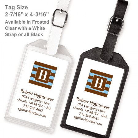 Monogram Luggage Tag 8