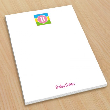 Monogram Note Pad 1 - Small