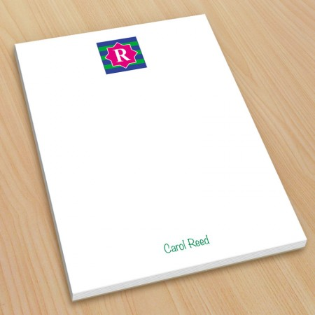 Monogram Note Pad 14 - Small