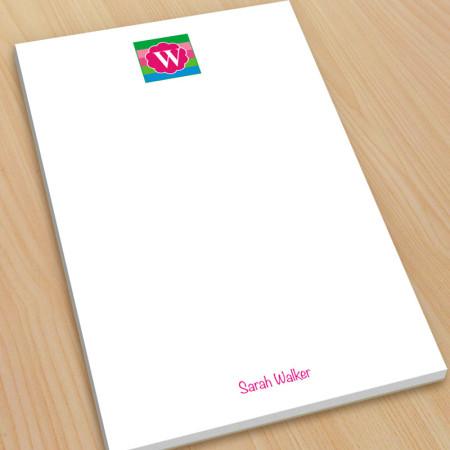 Monogram Note Pad 15 - Large
