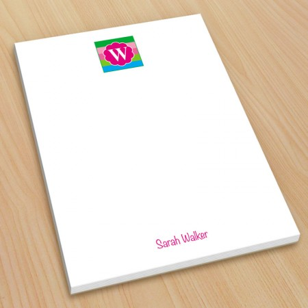 Monogram Note Pad 15 - Small
