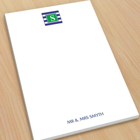 Monogram Note Pad 16 - Large