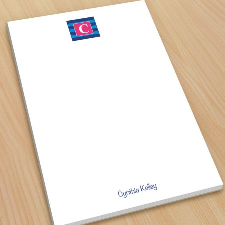 Monogram Note Pad 2 - Large