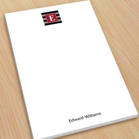 Monogram Note Pad 5 - Large
