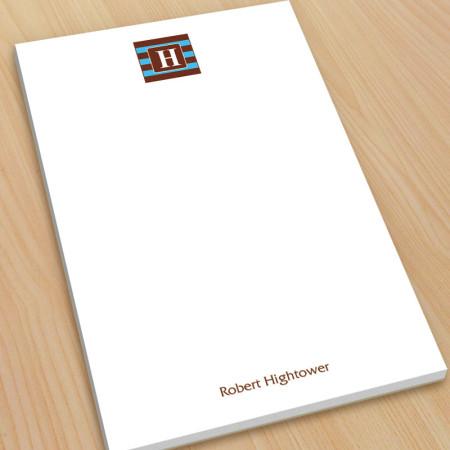 Monogram Note Pad 8 - Large