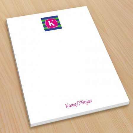 Monogram Note Pad 9 - Small