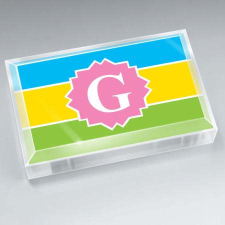 Monogram Paperweight 1