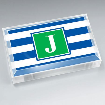 Monogram Paperweight 16