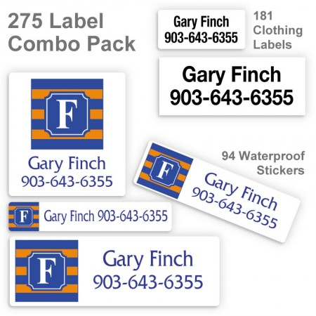 Monogram School Color 1 Label Combo Pack