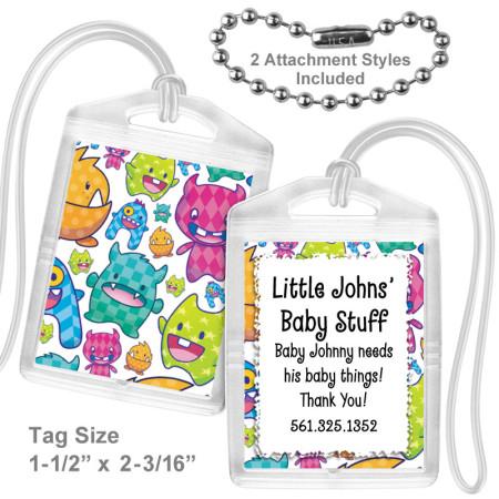 Monster Cutie Mini Bag Tag