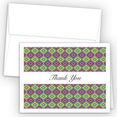 Moroccan PBD Thank You Card