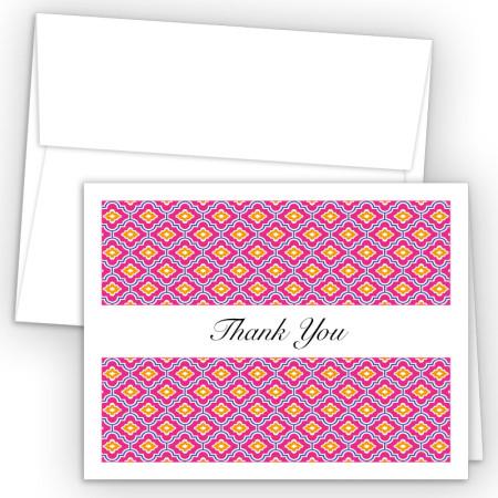 Moroccan PBO Thank You Card