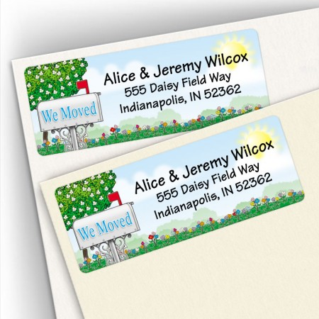 Moving Big Home Address Labels