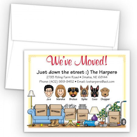 Moving Boxes Moving Cards & Announcements