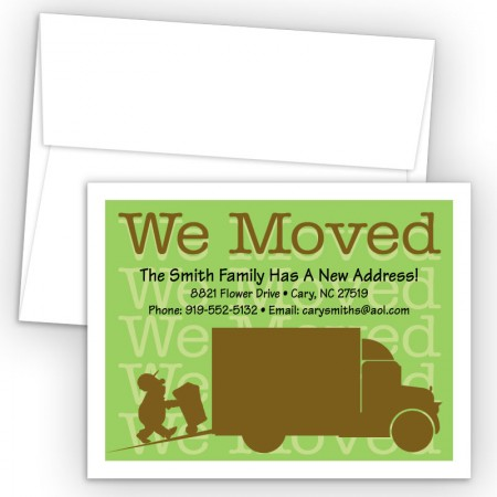 Moving Man Moving Card