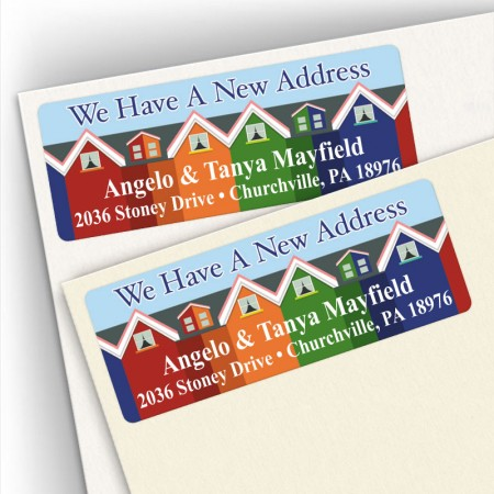 Moving Rowhouses Address Labels