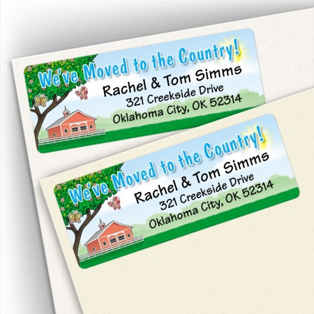 Moving to Country Address Labels