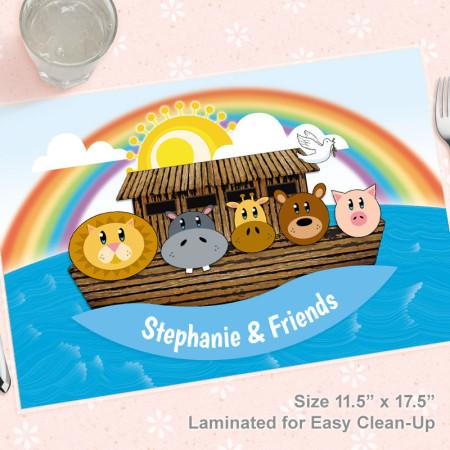 Noah's Ark Placemat
