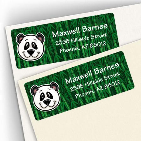 Panda Address Labels