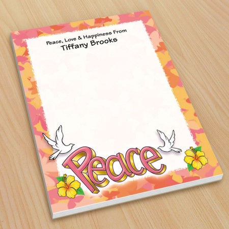 Peace Doves Small Note Pads