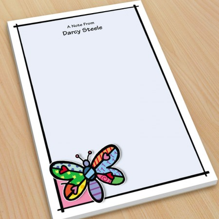 Pop Art Dragonfly Large Note Pads