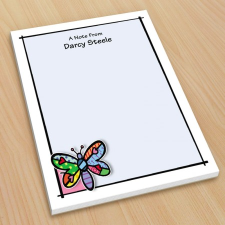 Pop Art Dragonfly Small Note Pads