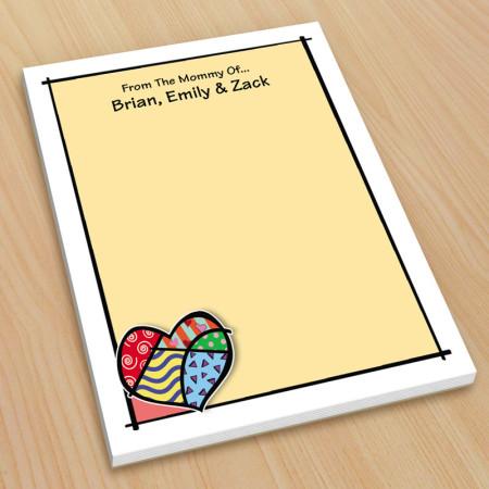 Pop Art Heart Small Note Pads