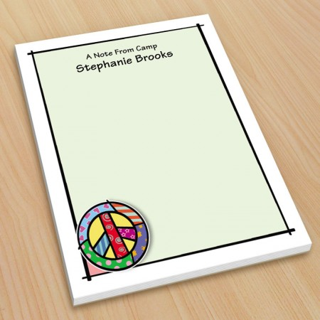 Pop Art Peace Small Note Pads