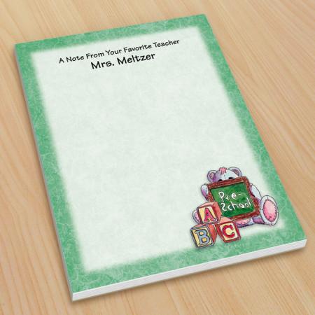 Preschool Teacher Small Note Pads