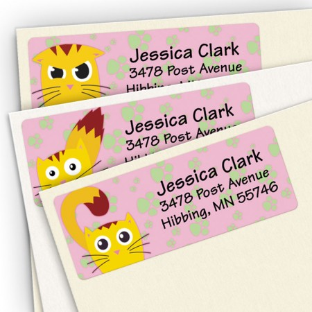 Kitty Attitudes Address Label Assortment Pack