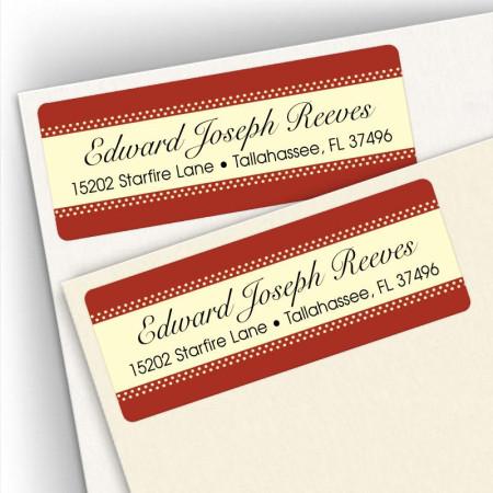 Classic Design 9 Address Label