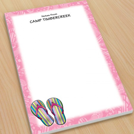 Sandals Flip Flops Large Note Pads