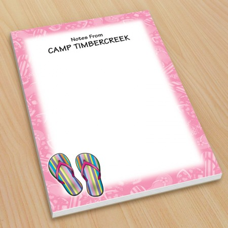 Sandals Flip Flops Small Note Pads