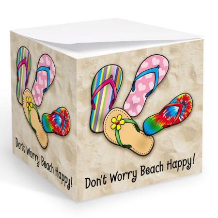 Sandals Memo Cube