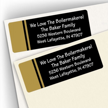 School Colors 1 Address Labels
