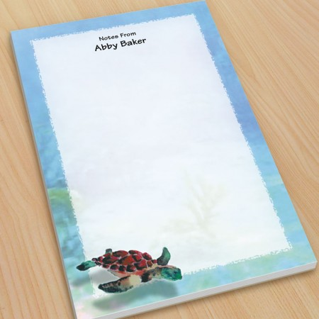 Sea Turtle Large Note Pads