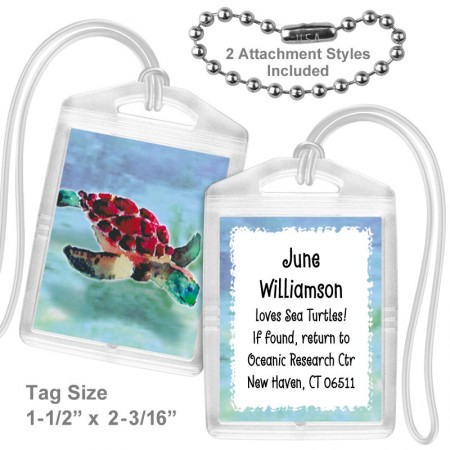 Sea Turtle Mini Tag
