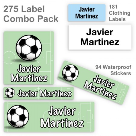 Soccer Label Combo Pack