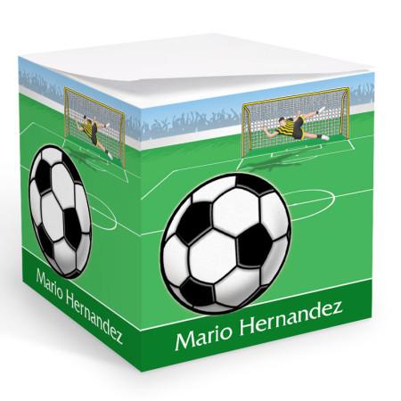 Soccer Memo Cube