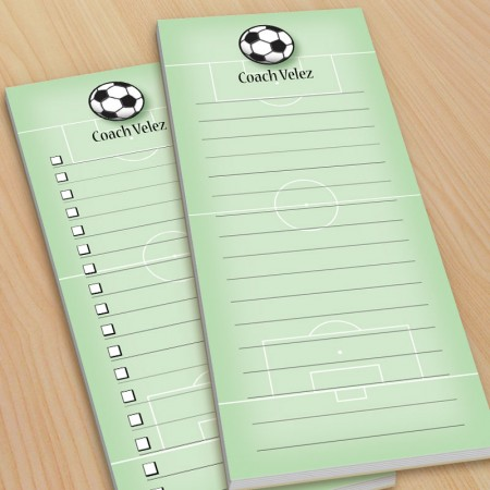 Soccer To-Do Pads