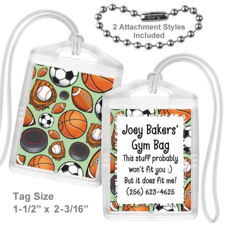 Sports Mini Bag Tag