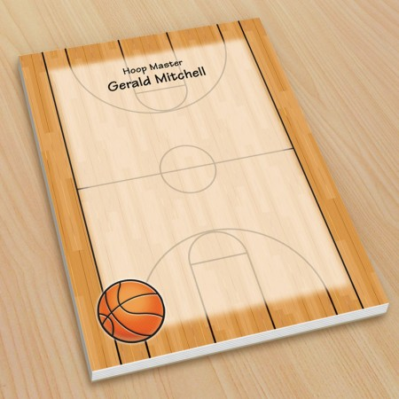 Sports Basketball Small Note Pads
