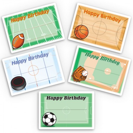 Sports Gift Labels