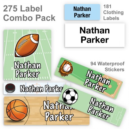 Sports Label Combo Pack