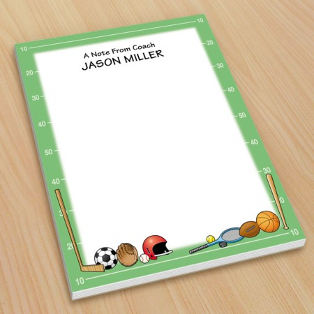 Sports Small Note Pads
