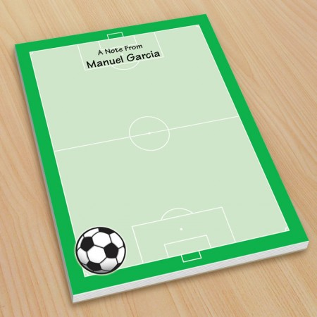 Sports Soccer Small Note Pads