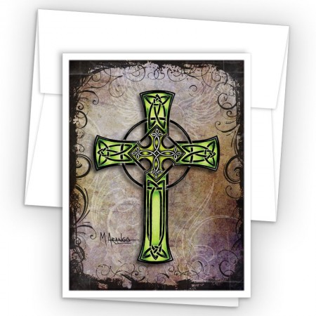 Tattoo Celtic Cross Note Cards