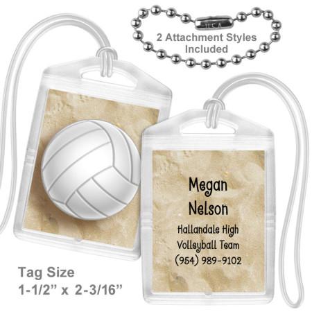 Volleyball Mini Tag