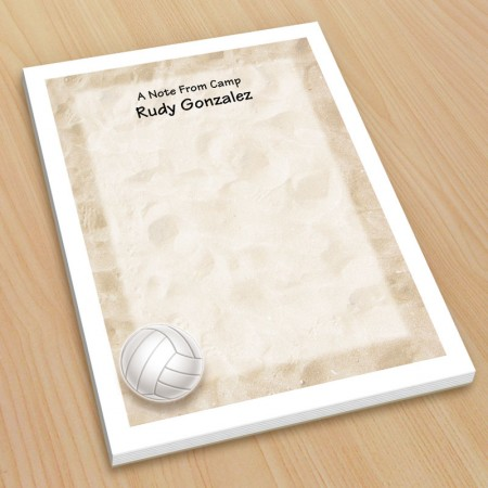 Sports Volleyball Small Note Pads